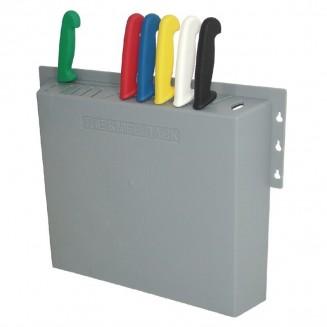 Hygiplas Plastic Knife Wall Rack 14 Slots