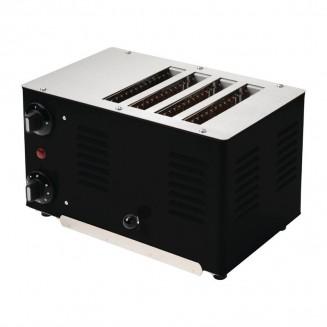 Rowlett Regent 4 Slot Toaster Black