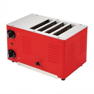 Rowlett Regent 4 Slot Toaster Red