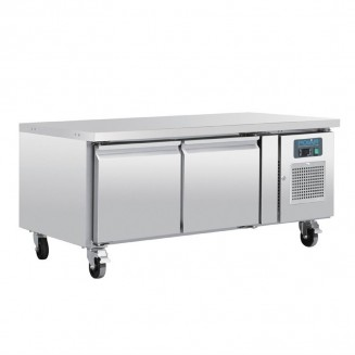Polar Two Door Refrigerated Gatronorm Undercounter Chef Base