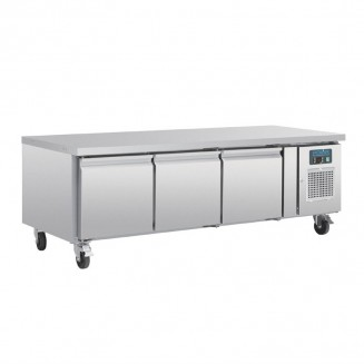 Polar Three Door Refrigerated Gatronorm Undercounter Chef Base