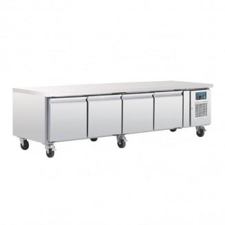 Polar Four Door Refrigerated Gatronorm Undercounter Chef Base