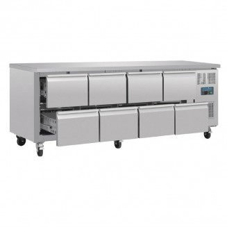 Polar Eight Drawer Ventilated Refrigerated Gastronorm Counter