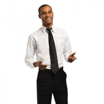 Chef Works Unisex Long Sleeve Shirt White M