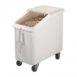 Cambro Mobile Ingredient Bin White 102Ltr