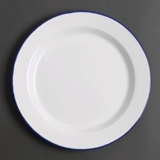 Olympia Enamel Dinner Plates 300mm