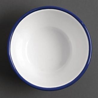 Olympia Enamel Pudding Bowls 155mm