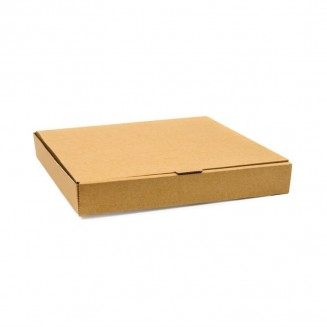 Fiesta Green Compostable Plain Pizza Boxes 9''