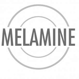 Kristallon Gala Colour Rim Melamine Plate Red 260mm