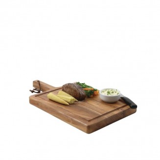 Solid Acacia Wood Steak Board Small