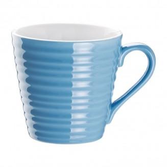 Olympia Café Aroma Mugs Blue 340ml