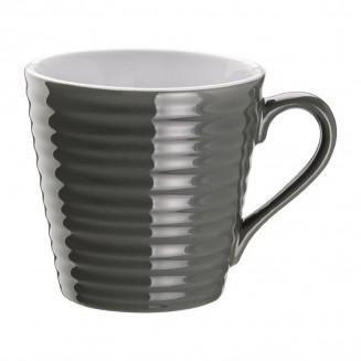 Olympia Café Aroma Mugs Charcoal 340ml