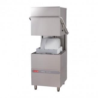 Gastro-M 50 x 50 Maestro Pass Through Dishwasher 230V With Drain Pump, Soap Dispenser and Break Tank