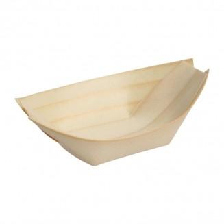 Fiesta Green Biodegradable Poplar Wood Boats 250mm