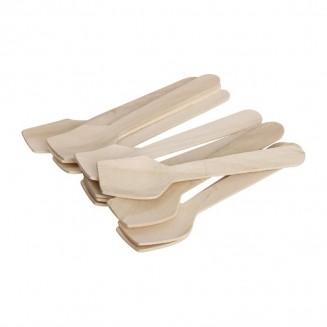 Fiesta Green Biodegradable Wooden Ice Cream Scoops