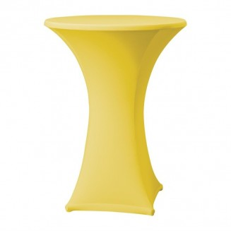 Samba stretch table cover yellow - D1