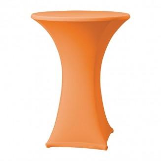 Samba Stretch table cover orange D1