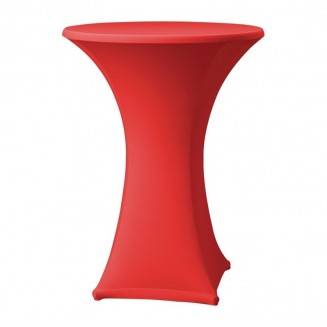 Samba Stretch table cover red D1