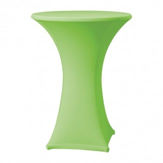 Samba Stretch table cover apple green D1