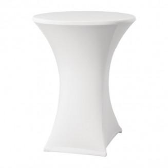 Samba Stretch table cover White D2