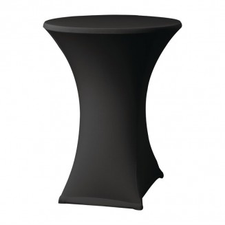 Samba Stretch table cover black D2