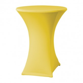 Samba Stretch table cover yellow D2