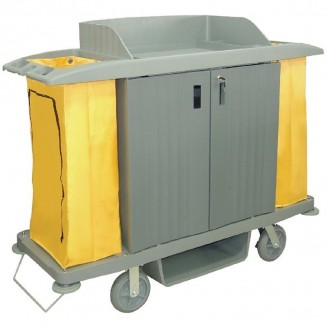 Jantex Housekeeping Trolley With Doors