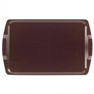 Cambro Venge Laminate Room Service Tray With Handles 640mm