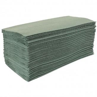 Jantex Z Fold Green Hand Towels 1Ply