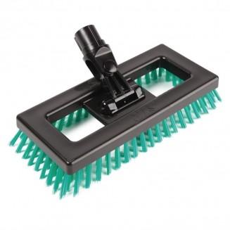SYR Deck Scrubber Brush Green