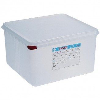 Araven Polypropylene 2/3 Gastronorm Food Storage Container 19Ltr