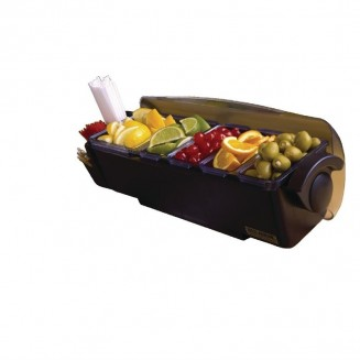San Jamar Dome Condiment Dispenser 5 Tray