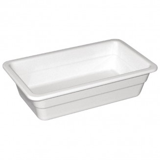 Kristallon Melamine 1/3 Gastronorm Dish 100mm