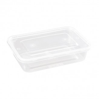 Fiesta Small Plastic Microwave Container