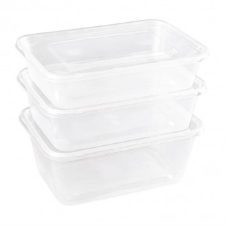 Large Plastic Microwave Container