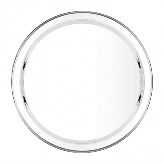 Olympia Stainless Steel Round Service Tray 405mm