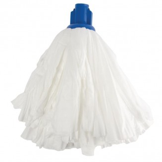 Jantex Standard Big White Socket Mop Head Blue