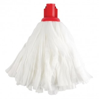 Jantex Standard Big White Socket Mop Head Red