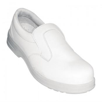 Lites Unisex Safety Slip On White Size 43