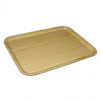 Olympia Snack-Size Birch Veneer Canteen Tray 320mm