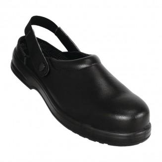 Lites Unisex Safety Clogs Black 36