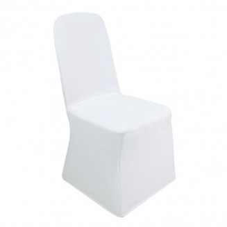Bolero Banquet Chair Cover White