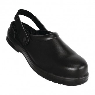 Lites Unisex Safety Clogs Black 45