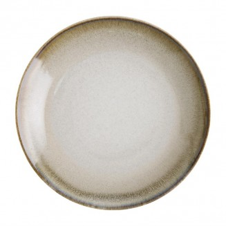 Olympia Birch Taupe Coupe Plates 270mm