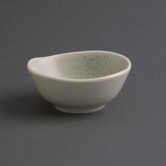 Olympia Chia Dipping Dishes Sand 80mm