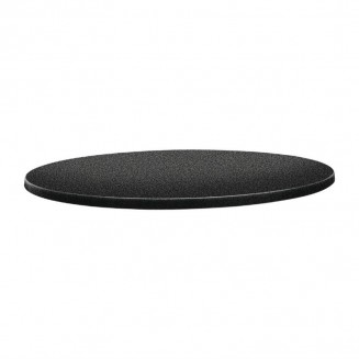 Topalit Classic Line Round Table Top Anthracite 600mm