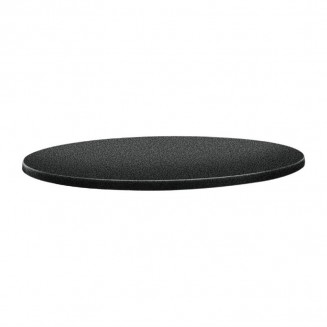 Topalit Classic Line Round Table Top Anthracite 700mm