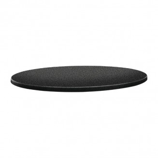 Topalit Classic Line Round Table Top Anthracite 800mm