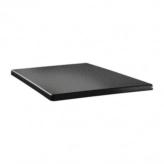 Topalit Classic Line Square Table Top Anthracite 600mm