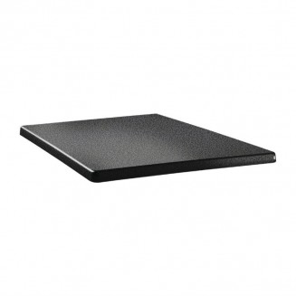 Topalit Classic Line Square Table Top Anthracite 700mm